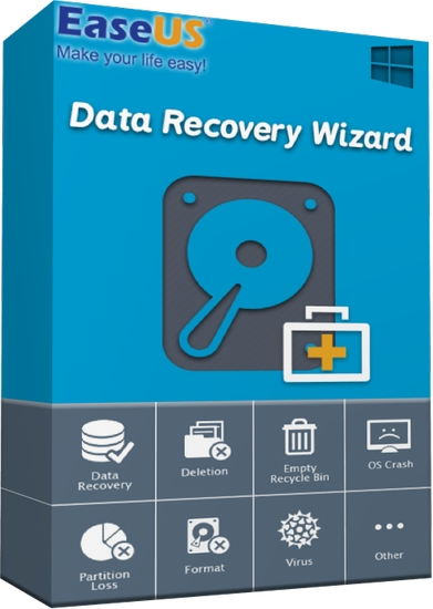EaseUS Data Recovery Wizard Technician 13.7 With Crack Latest Version