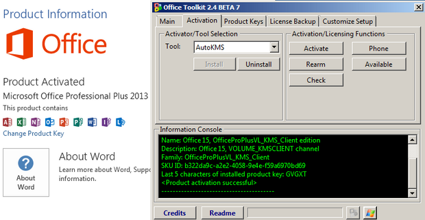 Microsoft Toolkit Crack + Activator for Windows 10 & Office 365 Download